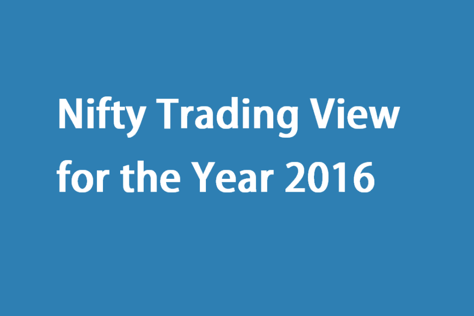 Nifty Trading View for the Year 2016
