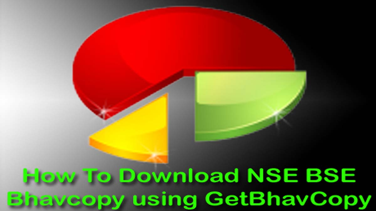 Nifty Future Historical Data And NSE BSE Bhavcopy For