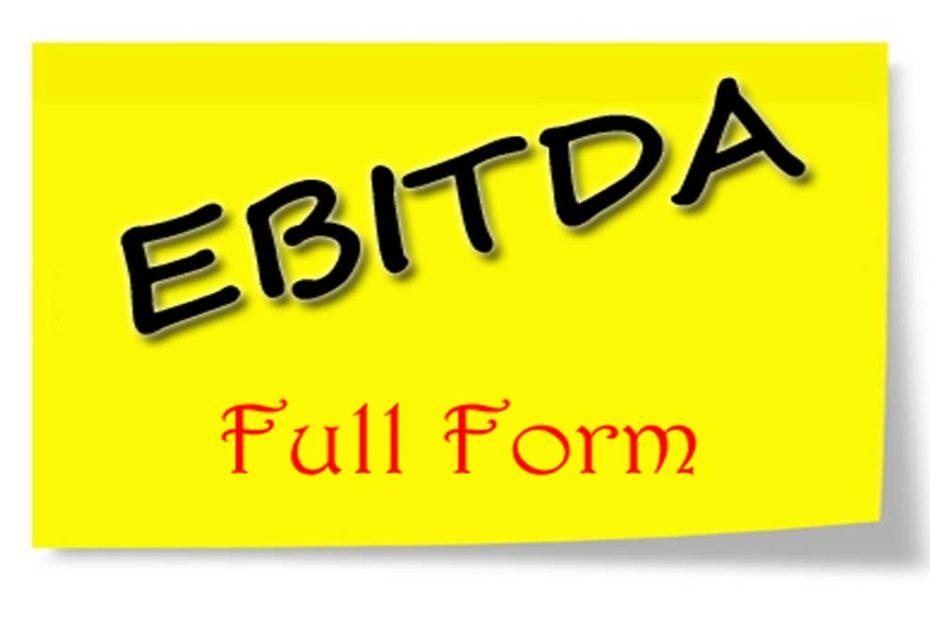 EBITDA Full Form