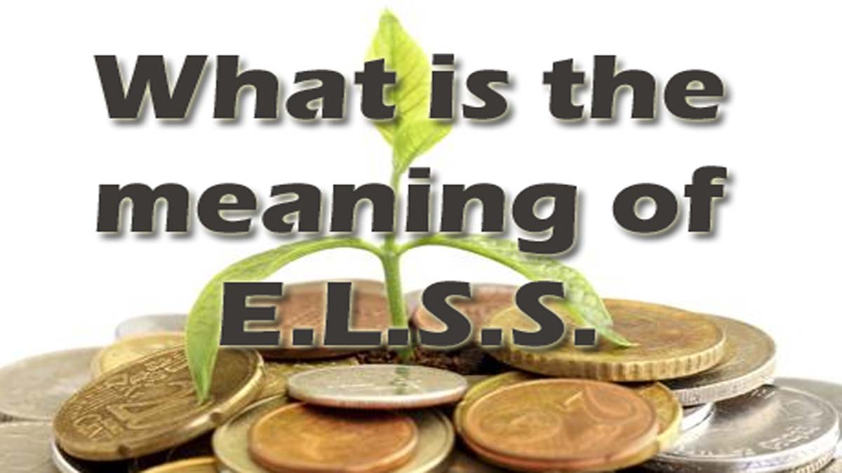 What Is ELSS Mutual Fund? Quick Guide To Know ELSS Meaning