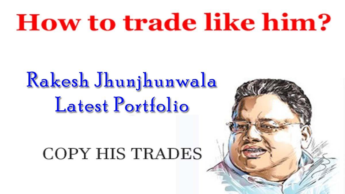 Rakesh Jhunjhunwala Portfolio 2017