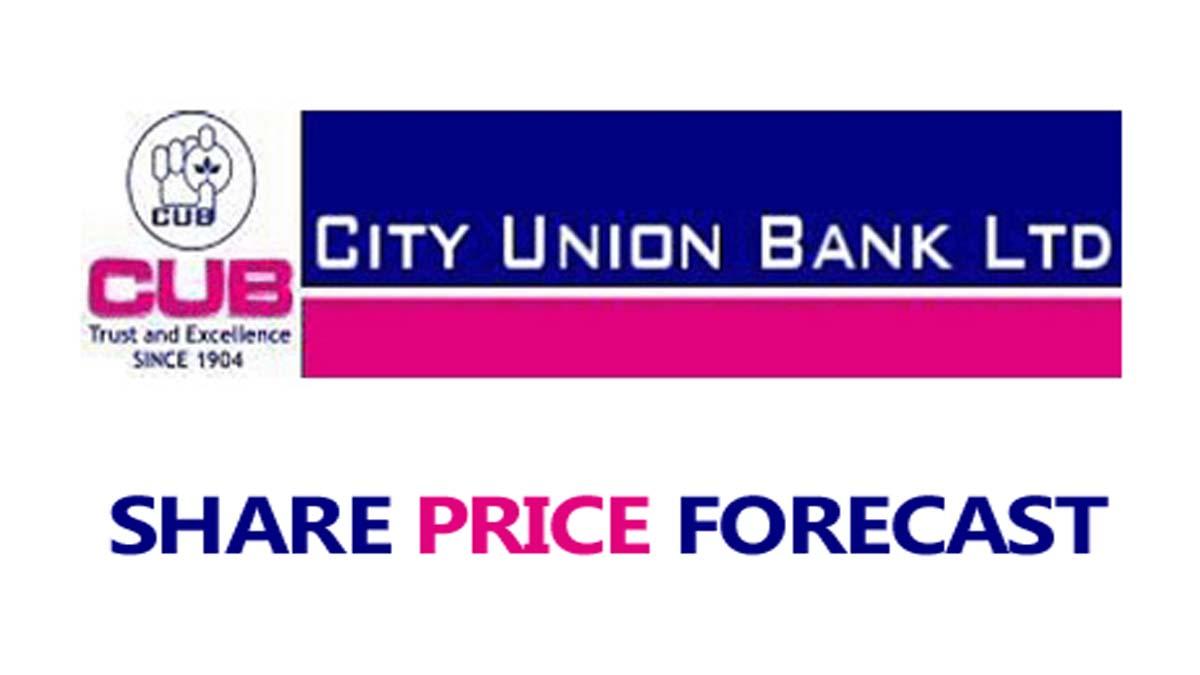 City Union Bank Share Price Forecast (CUB Share Price)