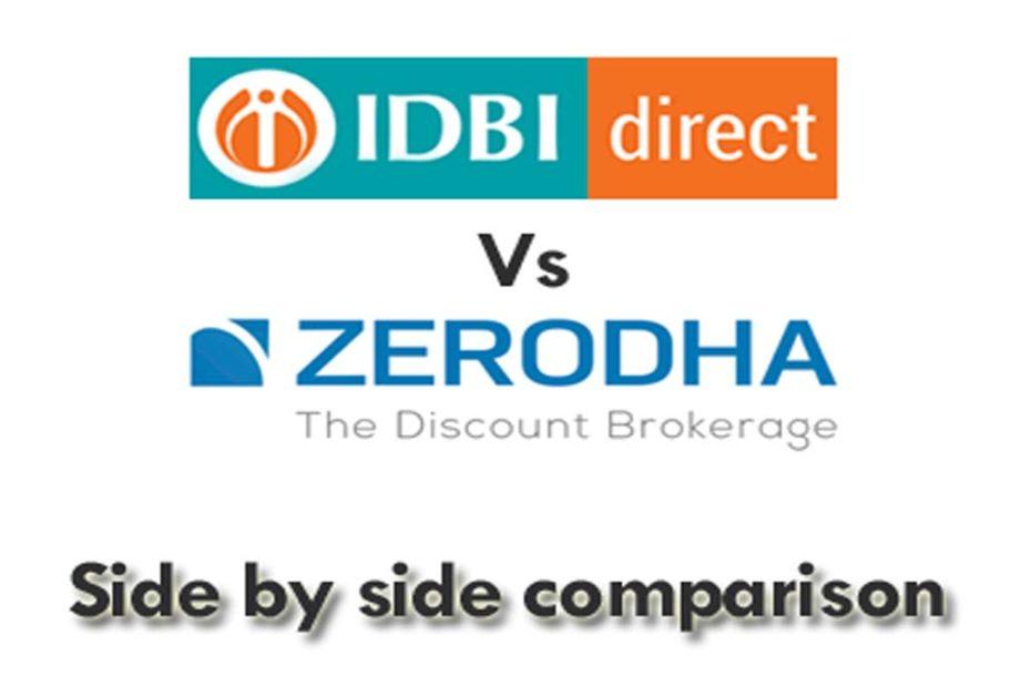 IDBI Direct Vs Zerodha