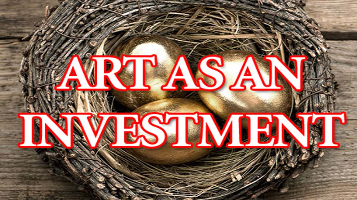 Art As An Investment To Diversify Your Portfolio