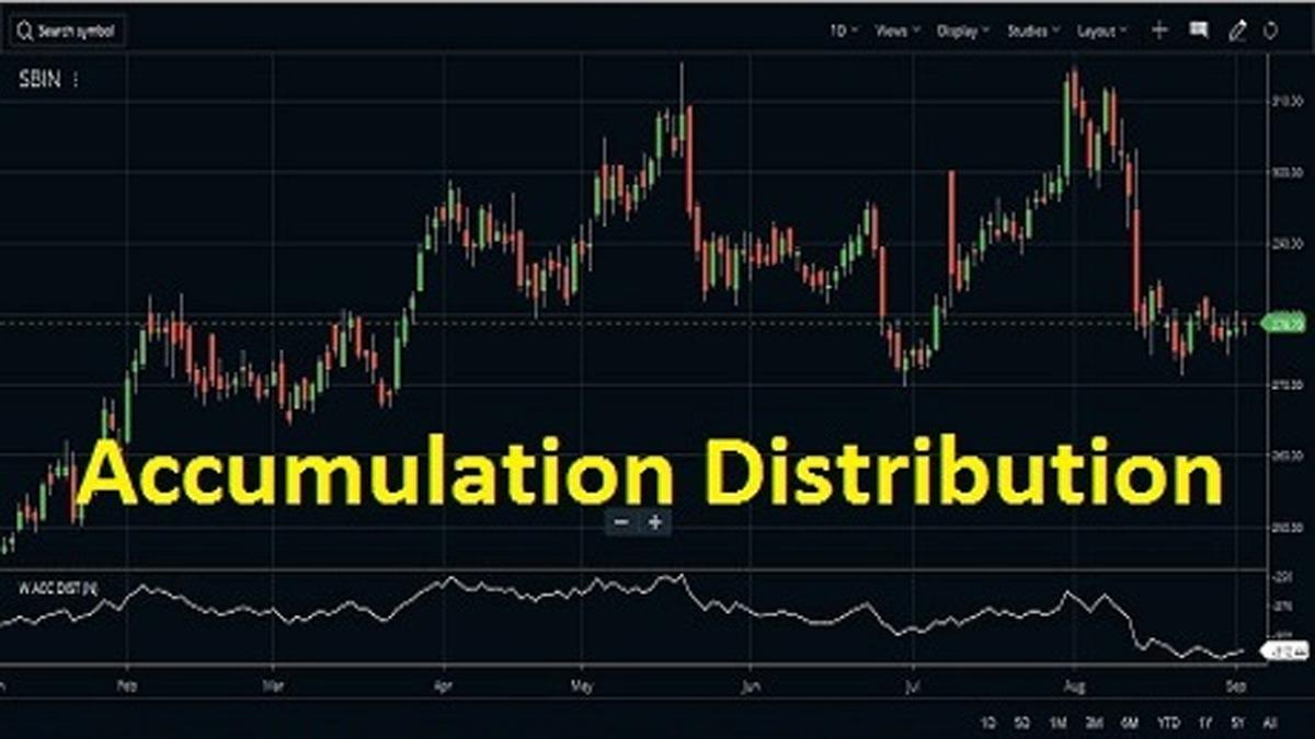 accumulation distribution
