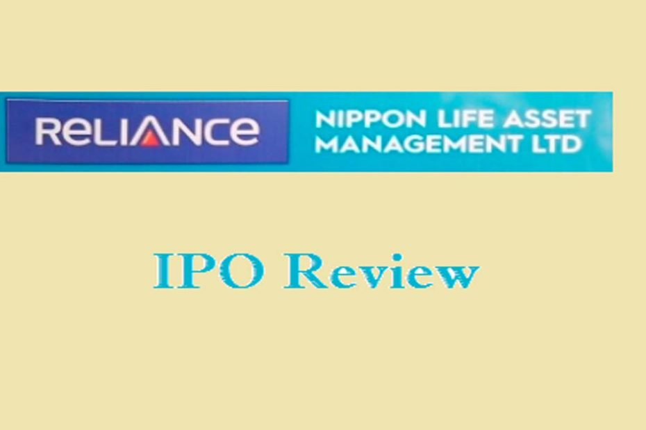 Reliance Nippon Life Asset Management Ltd IPO Review