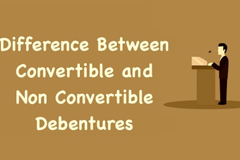 Convertible and nonconvertible debentures