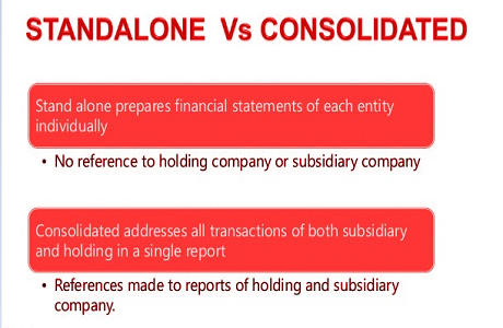 standalone vs consolidated pic