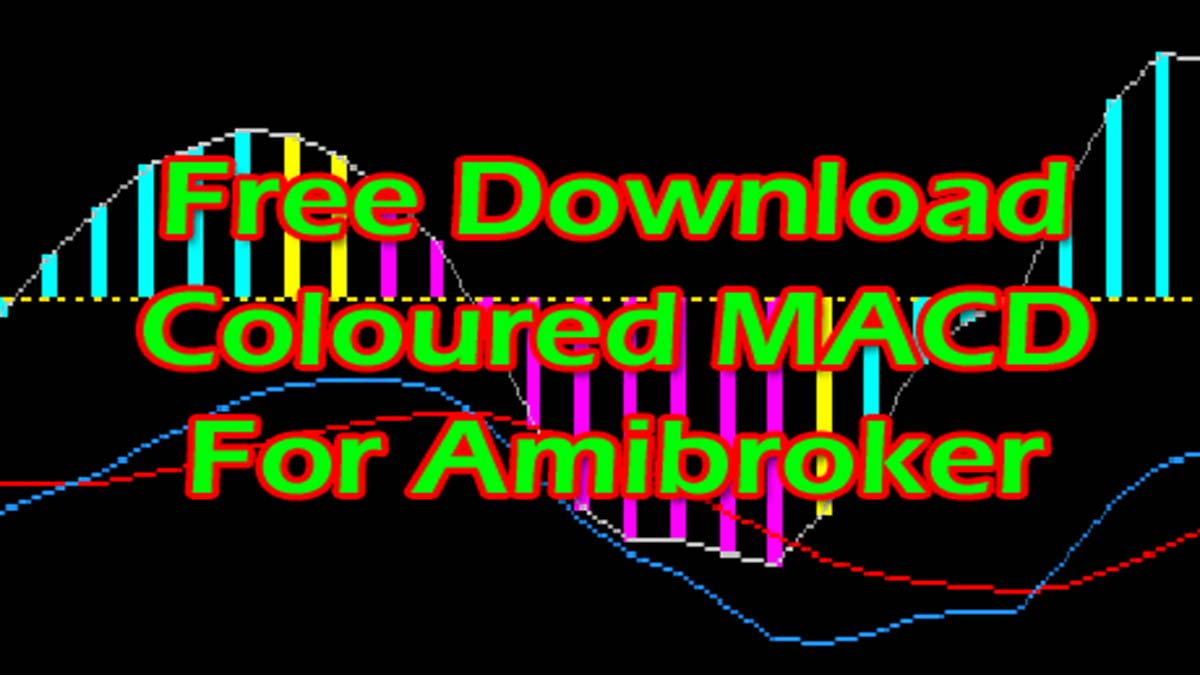 Amibroker AFL Code Writing – Download Coloured MACD