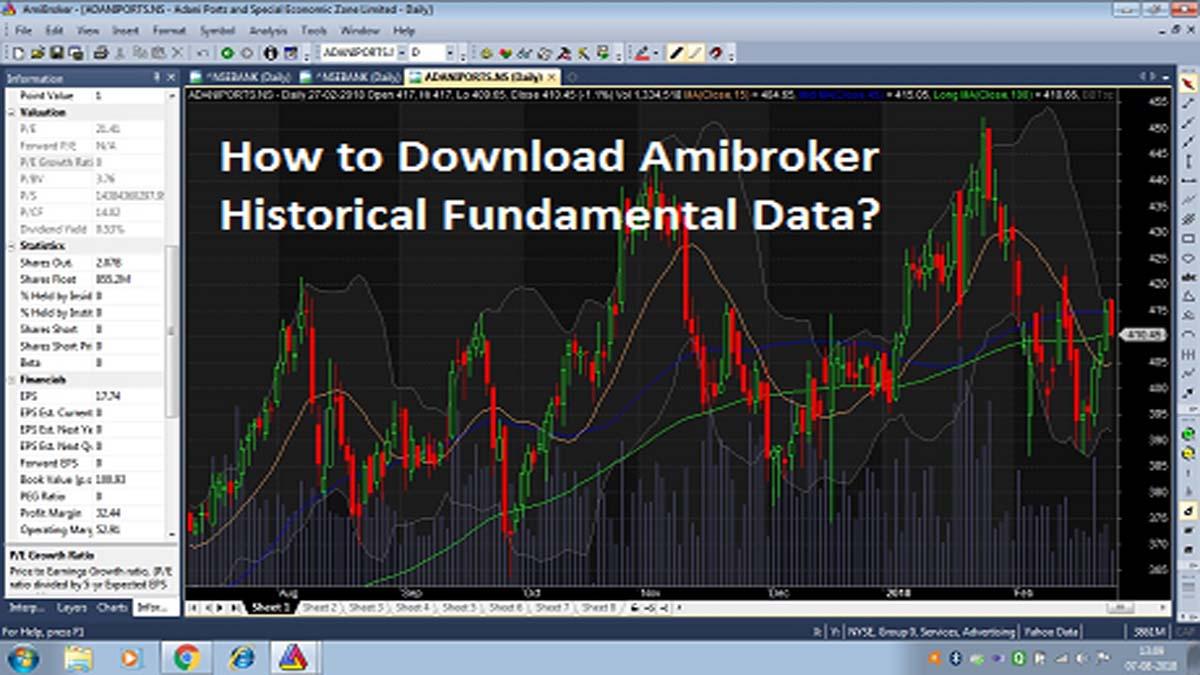 How to download amibroker historical fundamental data