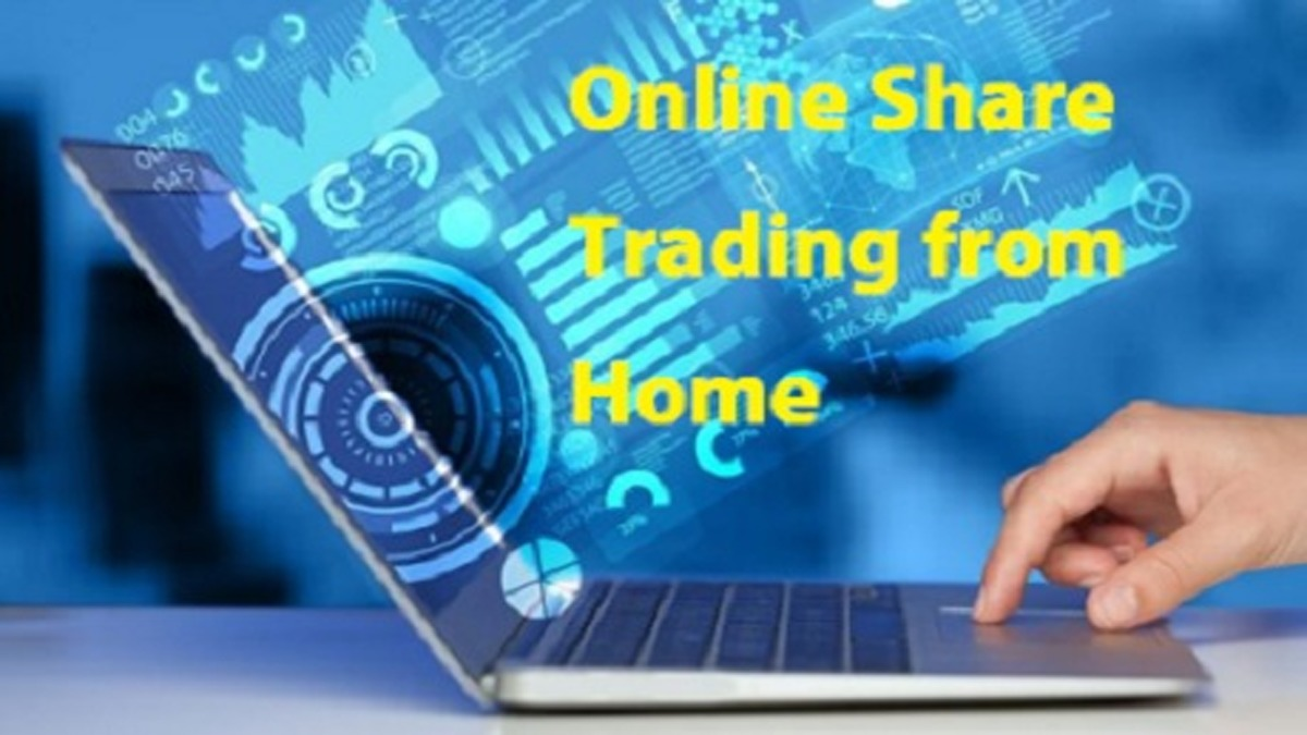 How to do online share trading from home
