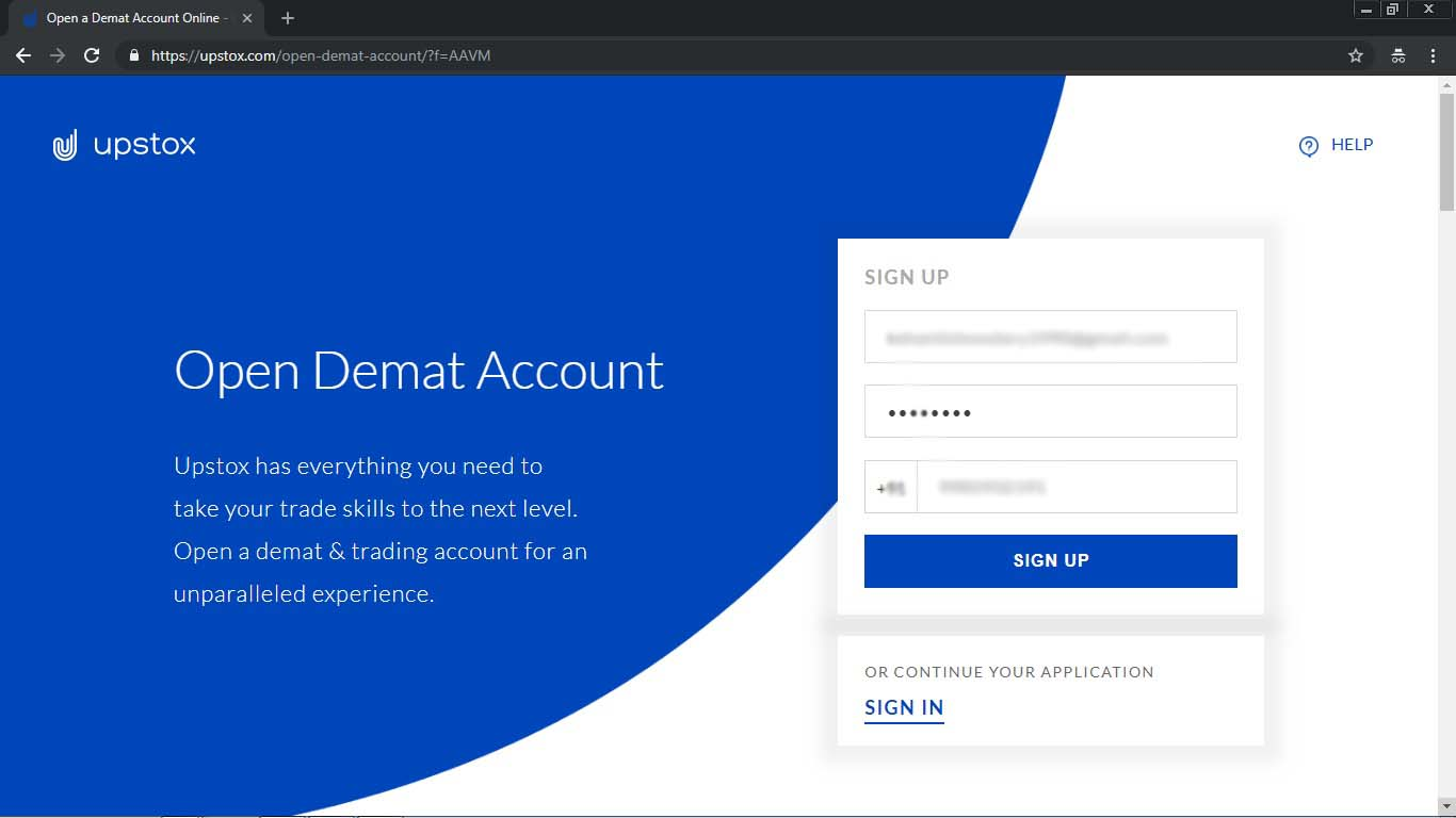 upstox account opening offers
