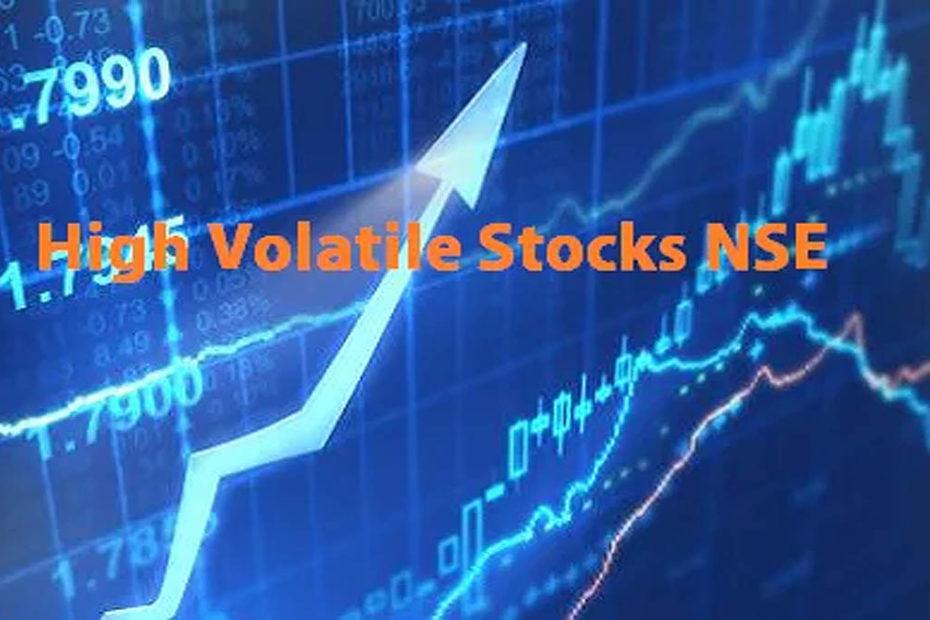 High Volatile Stocks NSE