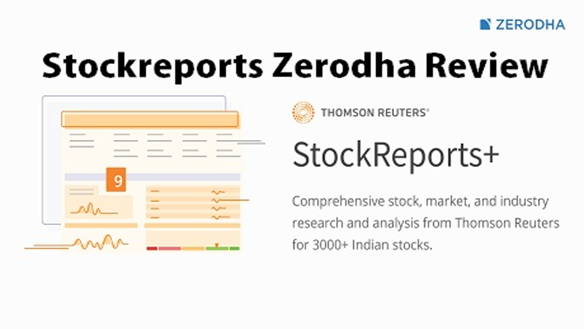 Stockreports Zerodha Review and Guide