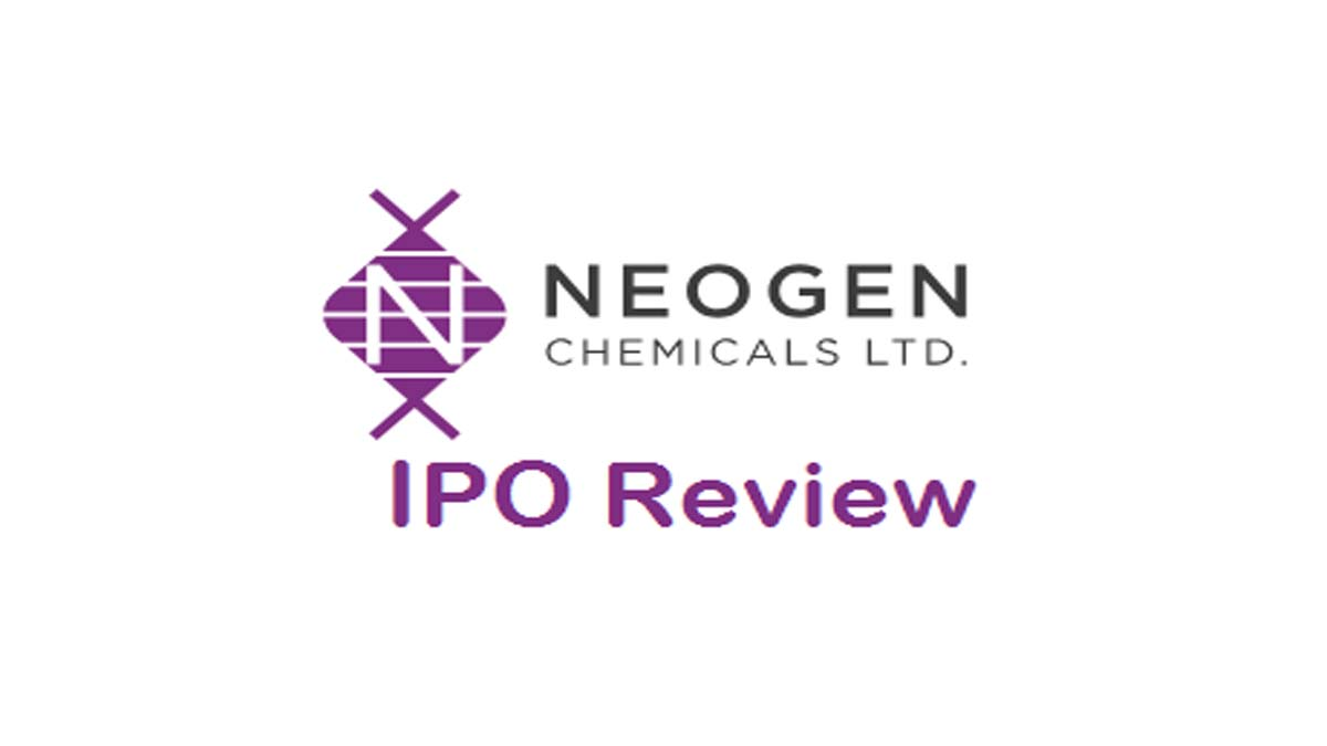 Neogen Chemicals IPO Review, DRHP, Date, Price