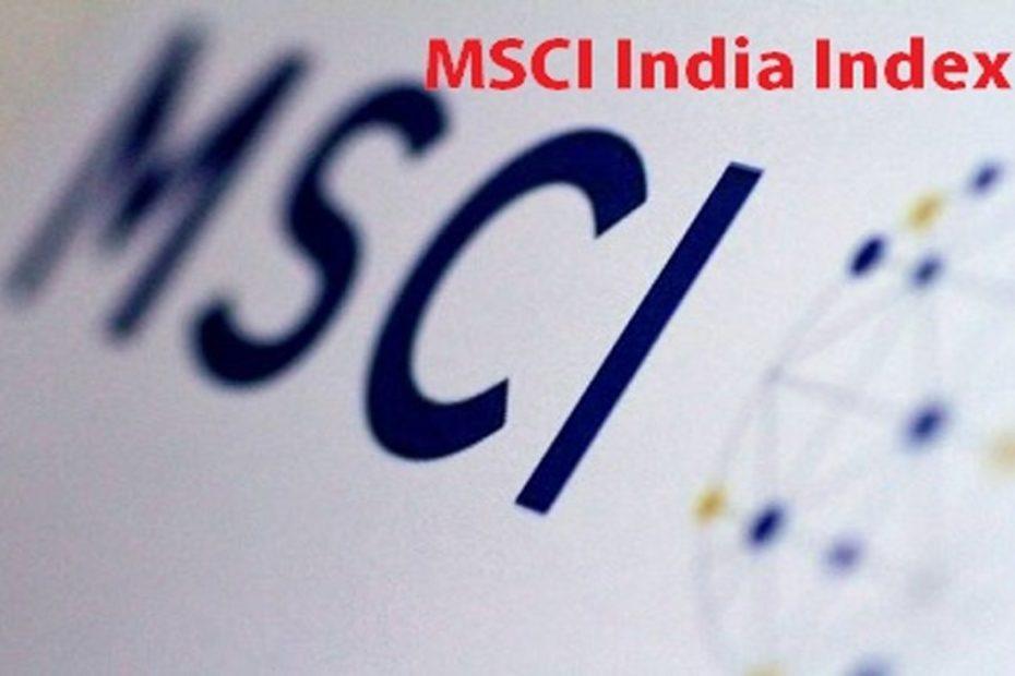 MSCI index 1