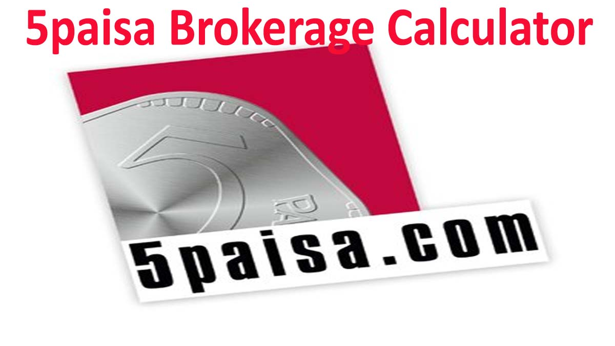 Calculate Profit and Loss with 5paisa Brokerage Calculator