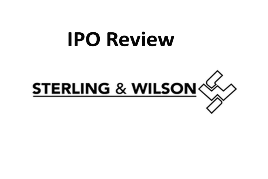 Sterling and Wilson Solar IPO Review