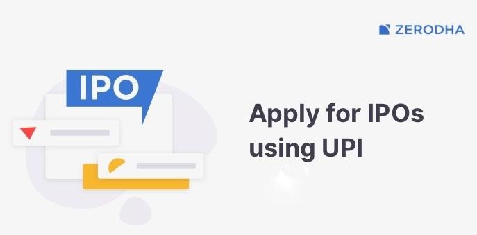 Apply IPO with UPI