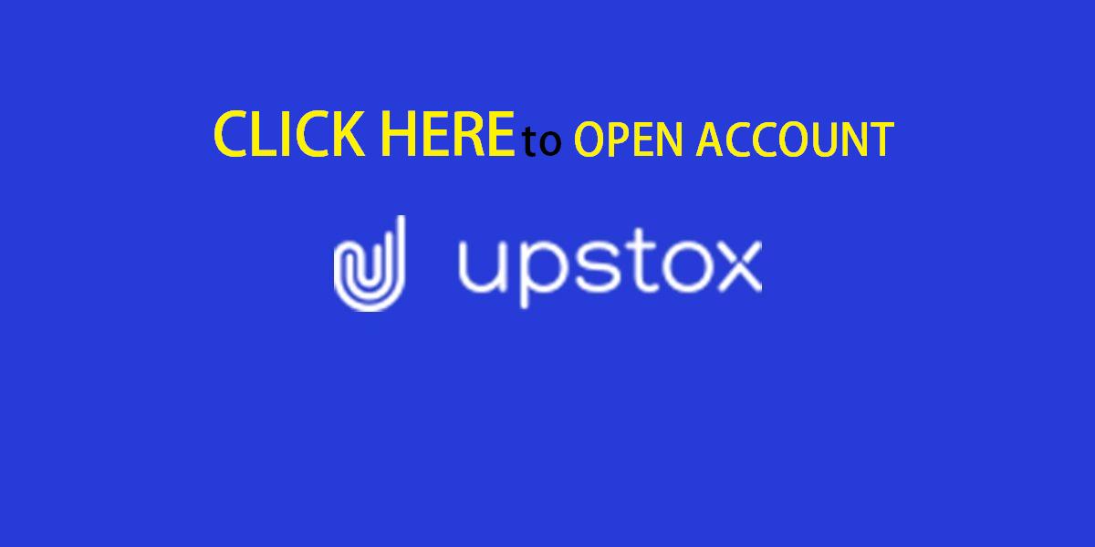 Open account with Upstox