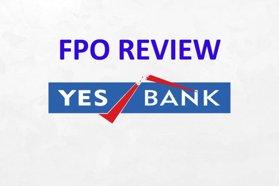 Yes bank fpo review