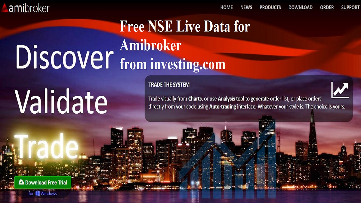free nse live data fo amibroker from investing.com